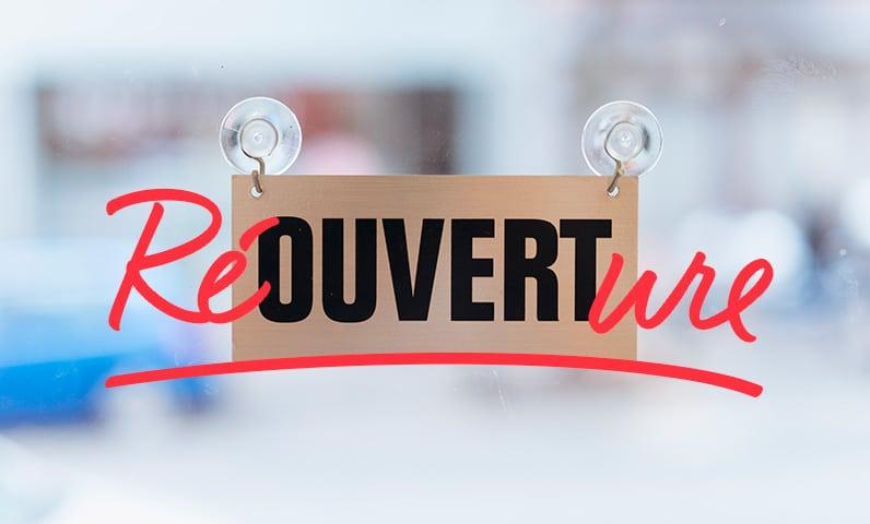 reouverture